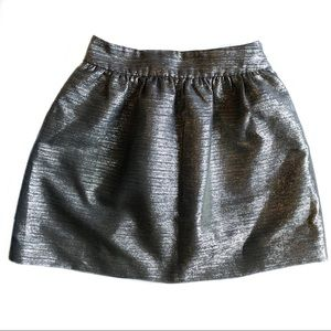 Banana Republic Heritage Shine Full Skirt Gold
